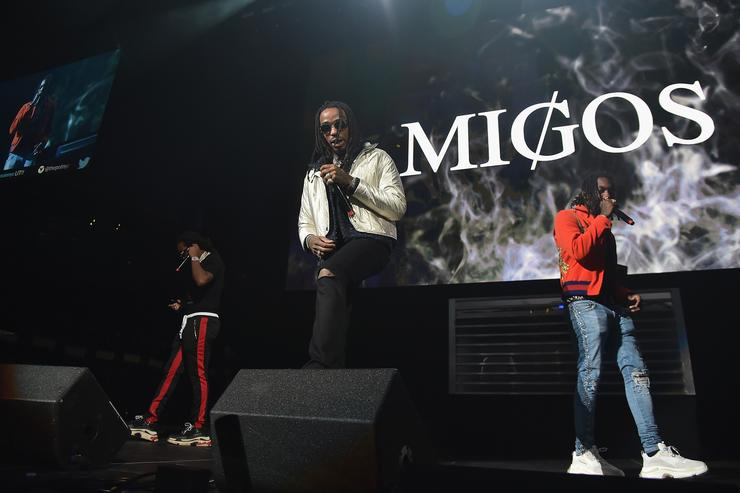 Migos performs onstage during 105.1's Powerhouse 2017 at the Barclays Center on October 26, 2017 in the Brooklyn, New York City City.
