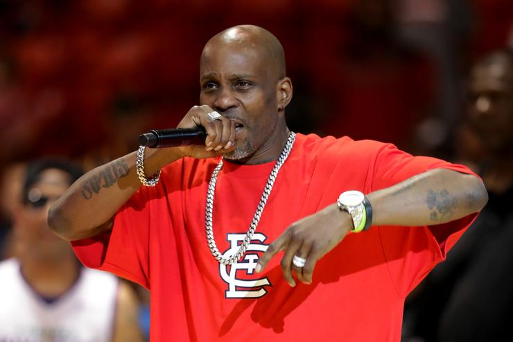 DMX performs during week five of the BIG3 three on three basketball league at UIC Pavilion on July 23, 2017 in Chicago, Illinois