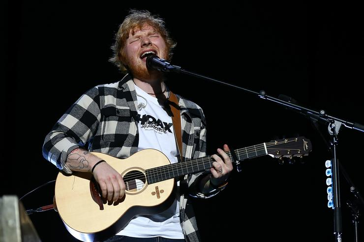 Ed Sheeran performs in concert on the opening night of his Australian tour at Optus Stadium on March 2, 2018 in Perth, Australia