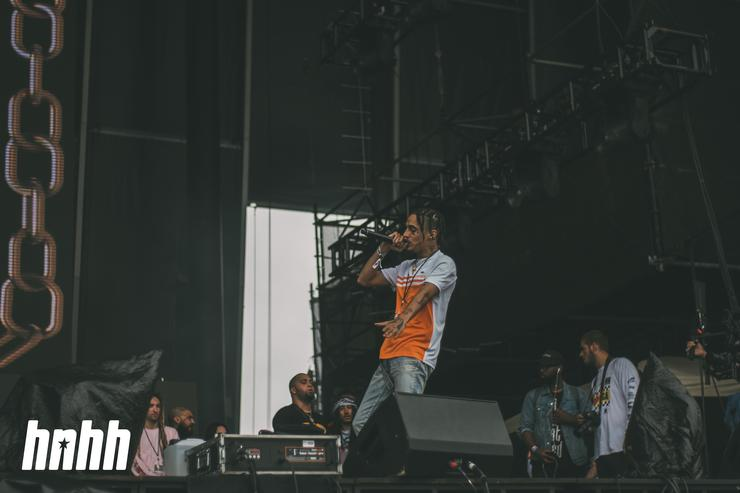 Wifisfuneral at Rolling Loud 2018