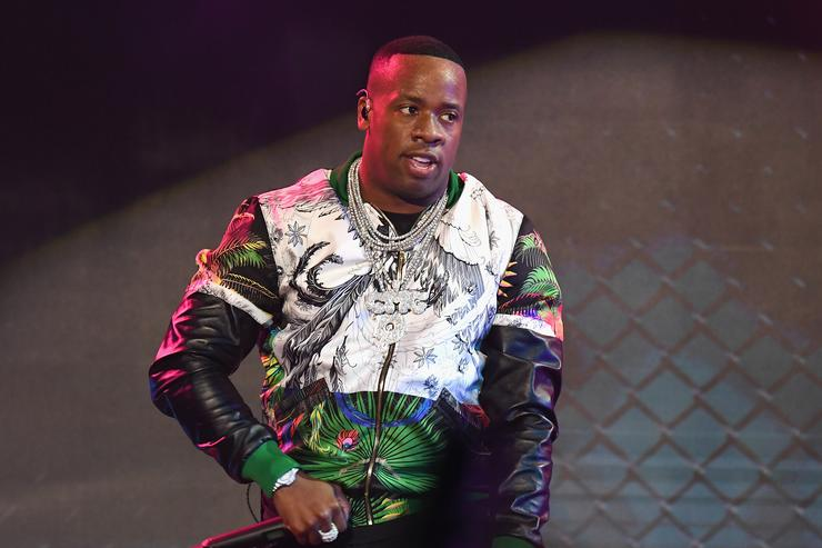 Rapper Yo Gotti performs onstage during the BET Hip Hop Awards 2017 at The Fillmore Miami Beach at the Jackie Gleason Theater on October 6, 2017 in Miami Beach, Florida.