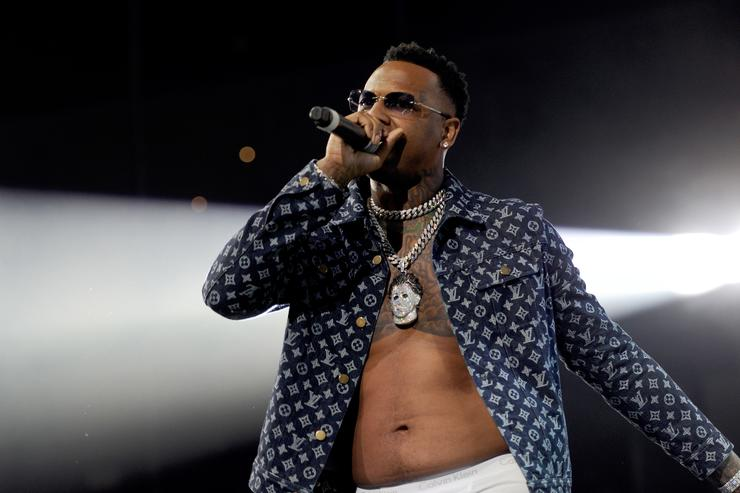 Moneybagg Yo performs onstage during the 6th Yo Gotti Birthday Bash at FedExForum on June 28, 2018 in Memphis, Tennessee