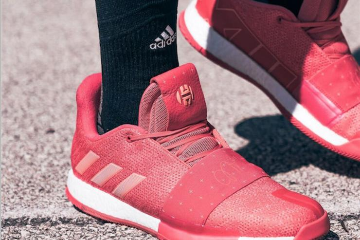 Adidas   James Harden Unveil New Colorways Of The Harden Vol. 3 9f0aff109